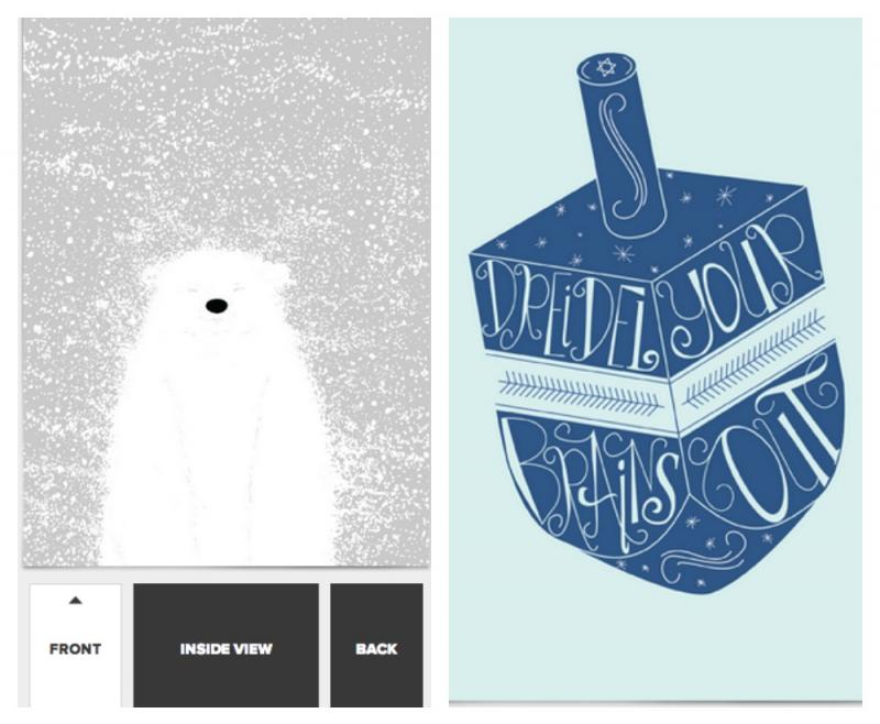 A new online card service that lets you customize and send without leaving the warmth of your laptop. Also? Threadless.