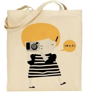 Adorably ironic camera bags ahoy!