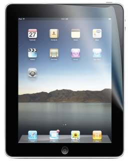 Protecting your iPad screen. And probably, your sanity.
