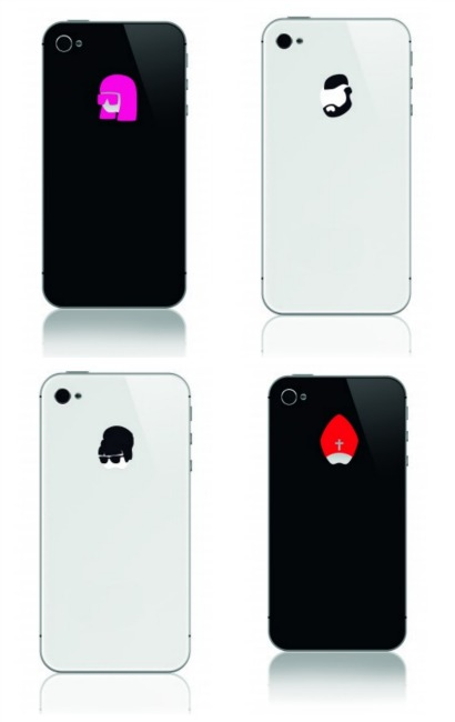 Iphone stickers that make your iphone cooler than the others that are otherwise the same