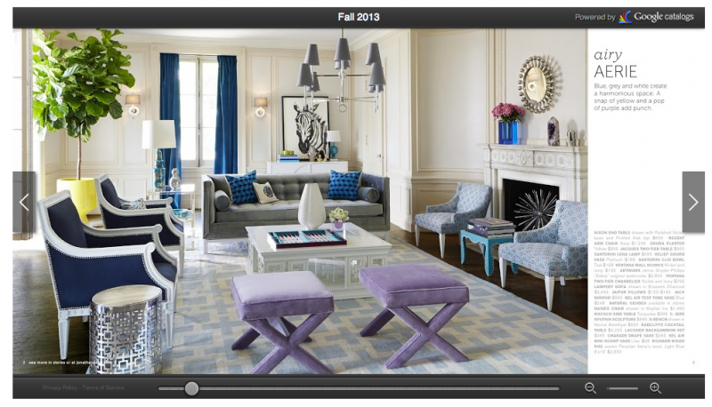 Fun with technology: The new Jonathan Adler interactive online catalog