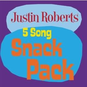 Kids' music download of the week: Justin Roberts Snack Pack EP