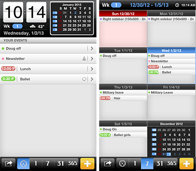The best calendar apps for iPhone, all under a dollar