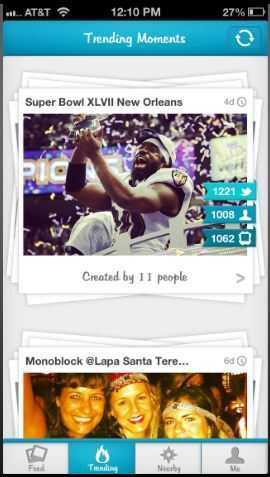 Moment.me lets you see the same event through hundreds of eyes