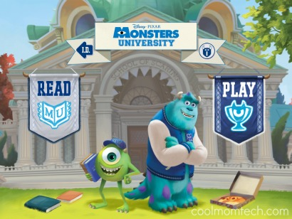 Monsters University Storybook app: A whole lot more than a storybook