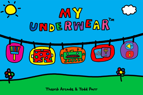 The joy of underwear