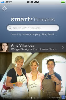 Smartr makes your overwhelming contact list a whole lot (yep) smarter.