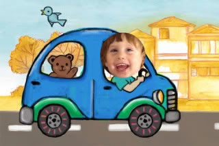 The perfect road trip app for any egocentric toddler