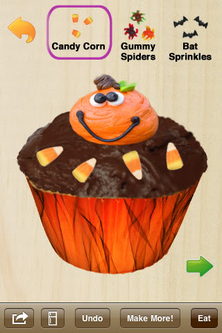 Cupcake making without cavity making