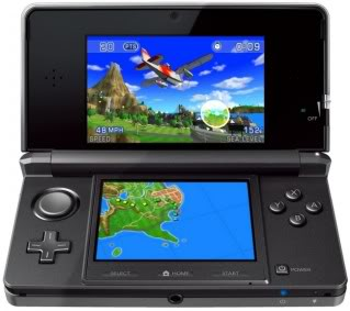 Nintendo 3DS: Effects that jump out at you, hold the glasses