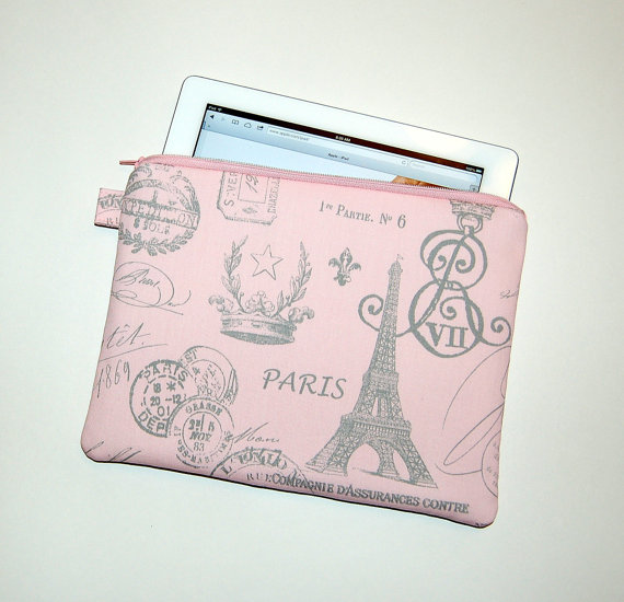 An iPad case with a Parisian accent