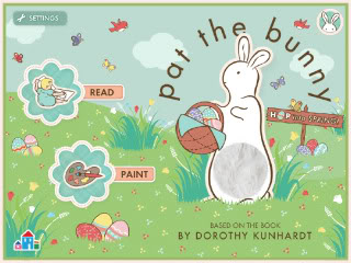 Pat the Bunny for iPad – the one bunny we love well after Easter is over