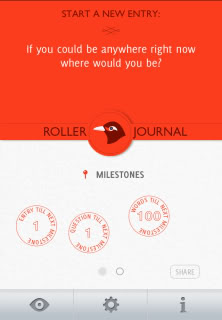 An amazing interactive journal app that feels so much cooler to write in than a journal