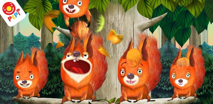 Pepi Tree: A fun nature app for preschoolers