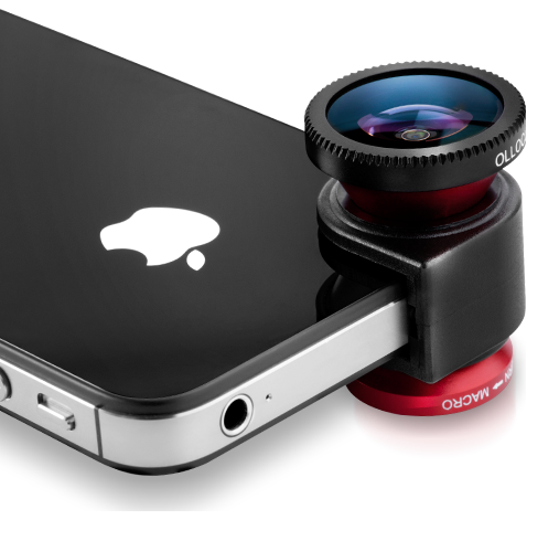 Olloclip: Lenses that turns your iPhone camera into three
