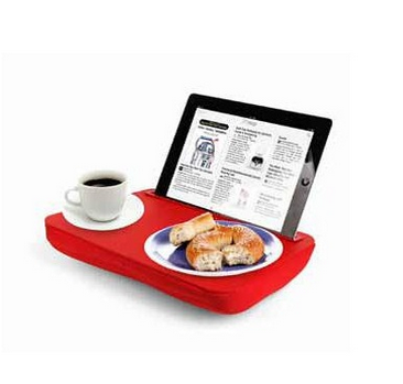 Breakfast in bed, with a techie twist
