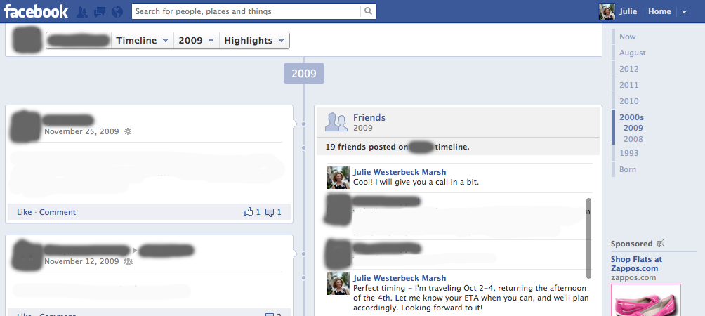 Facebook bug posts private messages on your wall
