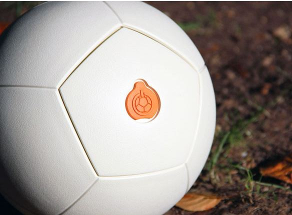 Piquing Our Geek: An energy-generating soccer ball. Whoa.