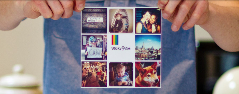 Sticking it to your Instagram photos with StickyGram