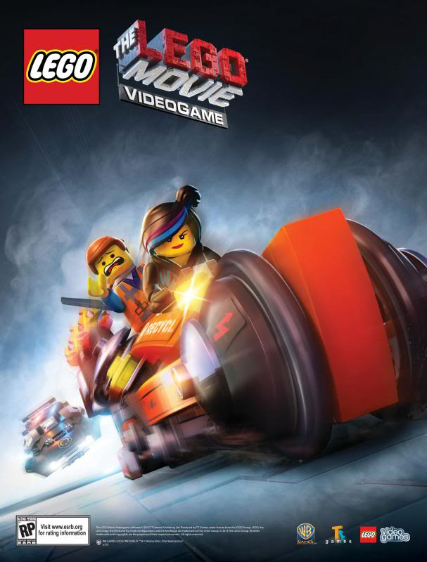 Sneak Peek of the new LEGO Movie Video Game