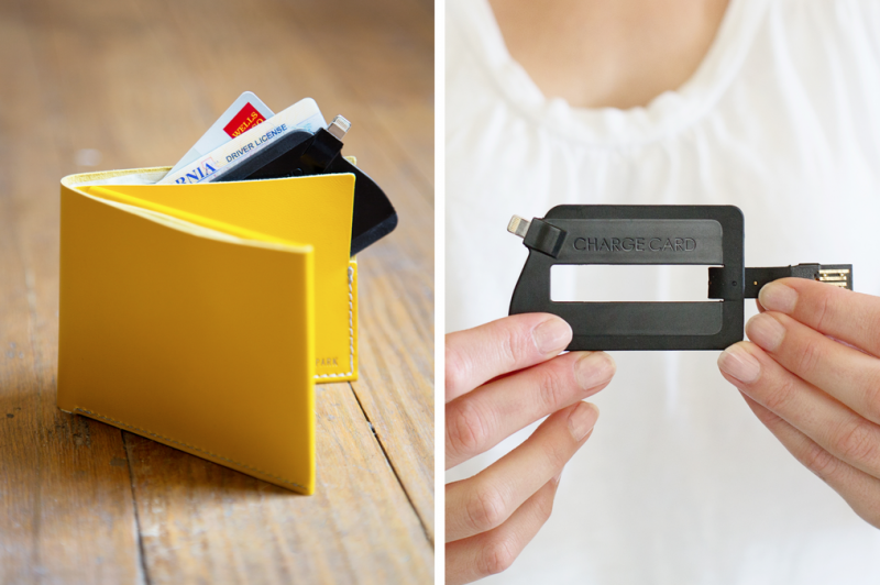 ChargeCard USB charger fits in your wallet. For real.