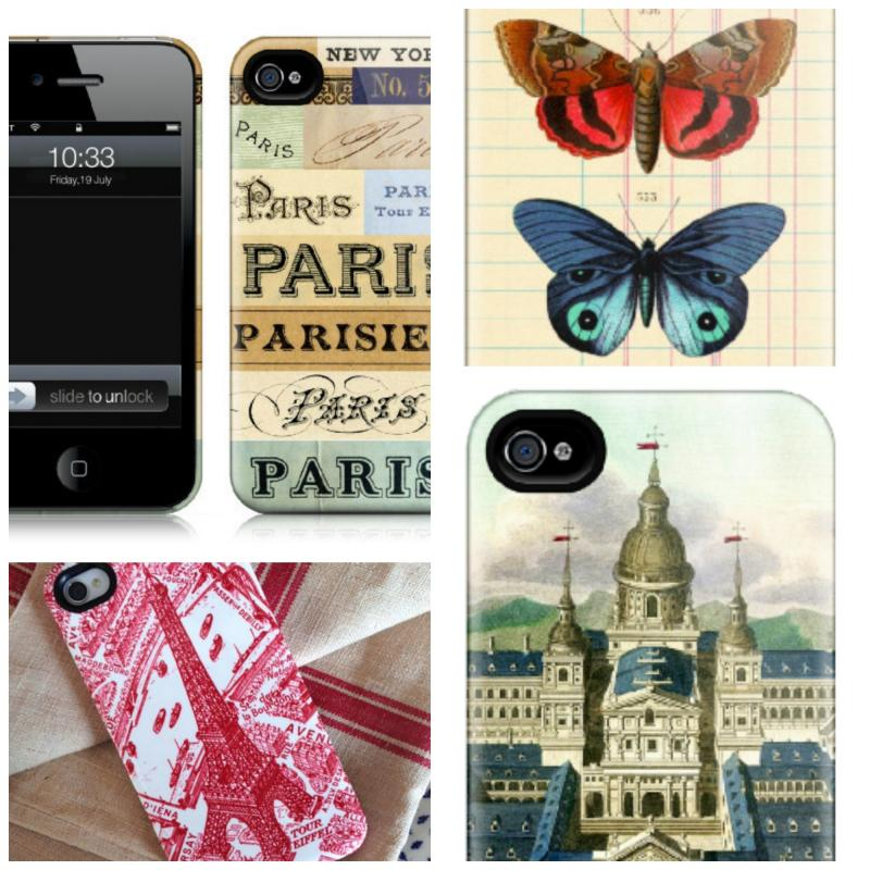 Vintage inspired iPhone cases to bring back the days before phones.
