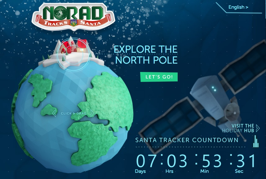 NORAD Tracks Santa | Cool Mom Tech
