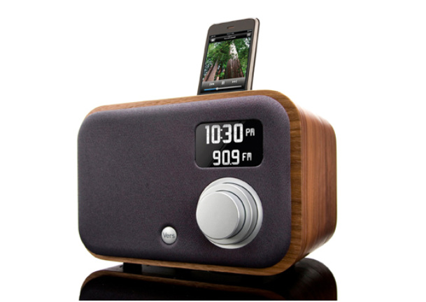 The eco-friendly radio from Vers that plays great music and plants trees too.