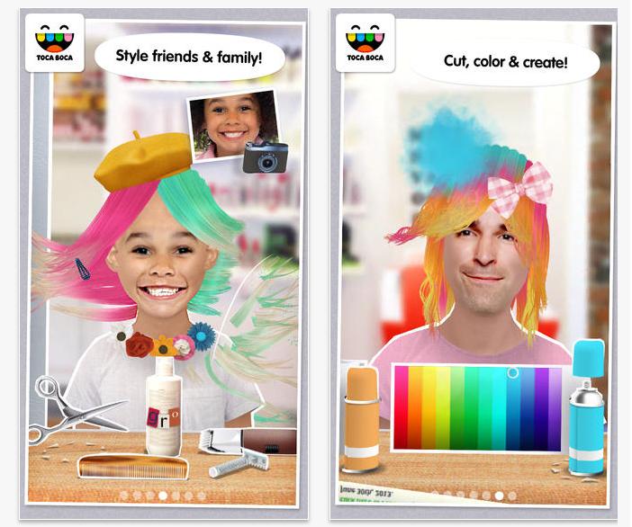 Toca Hair Salon Me | Cool Mom Tech