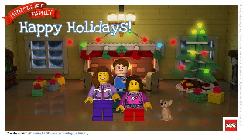 Turning your family into LEGO minifigures. Free, and less painful than it sounds.