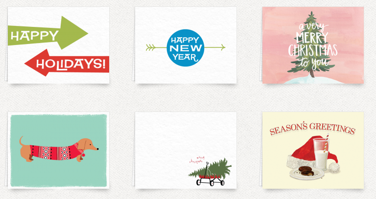 Postable Holiday Cards | Cool Mom Tech