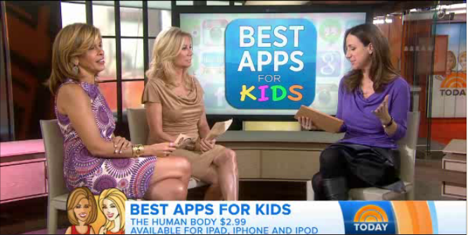 4 Great new apps for kids: Cool Mom Tech Joins the TODAY Show