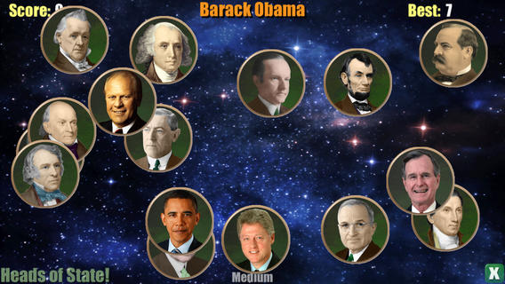 Teaching the US presidents with the help of aliens