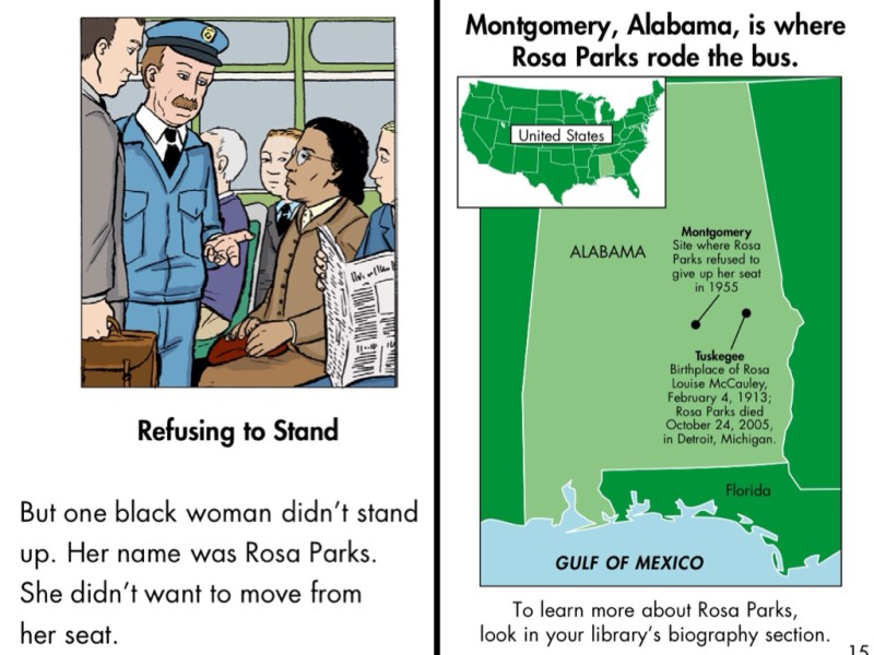 Introducing young kids to the civil rights movement with a Rosa Parks app