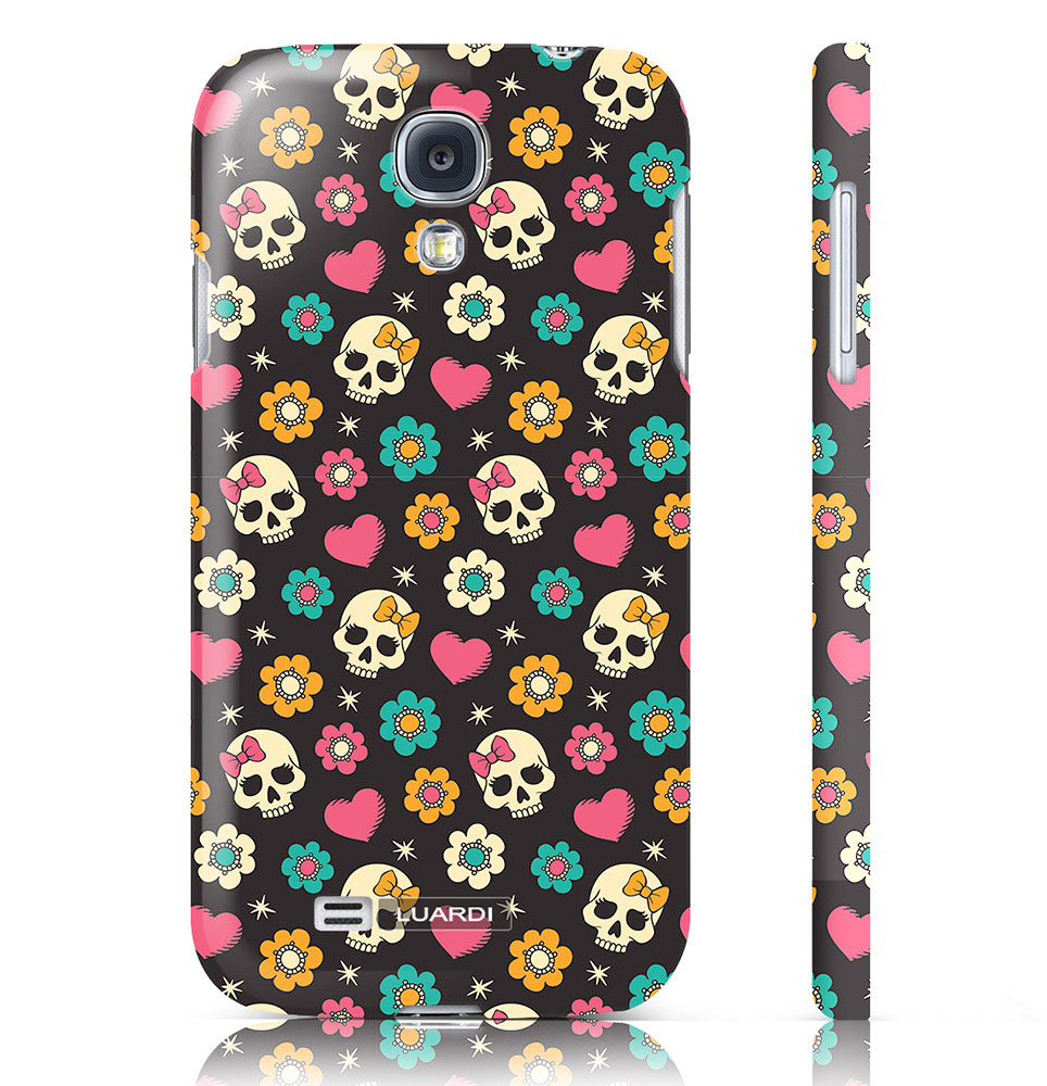 Sugar Skulls Case Samsung Galaxy 4S | Cool Mom Tech