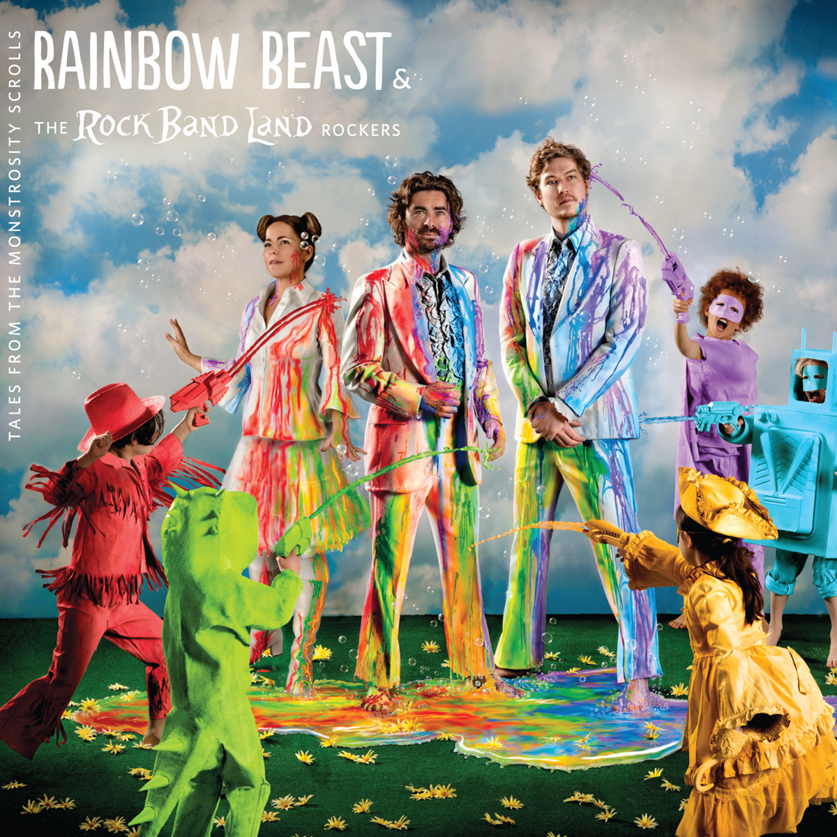 Kids' music download of the week: Happy Clouds from Rainbow Beast and the Rock Band Land Rockers