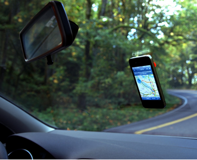 barnacle iphone car mount | cool mom tech