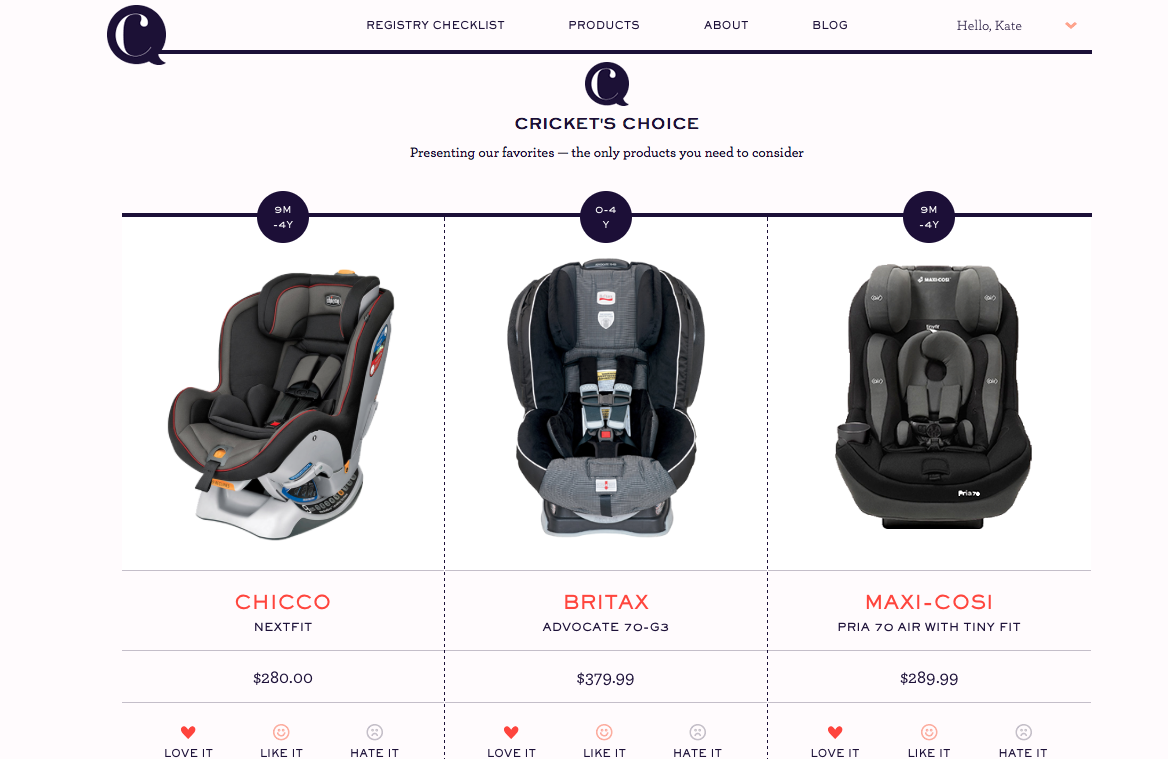Cricket's Circle: The baby registry help you're looking for