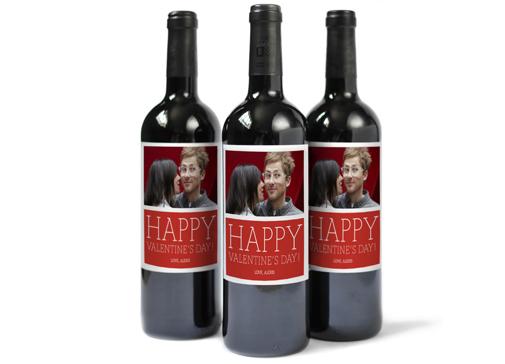 Custom photo wine labels at Pinhole Press | Cool Mom Picks