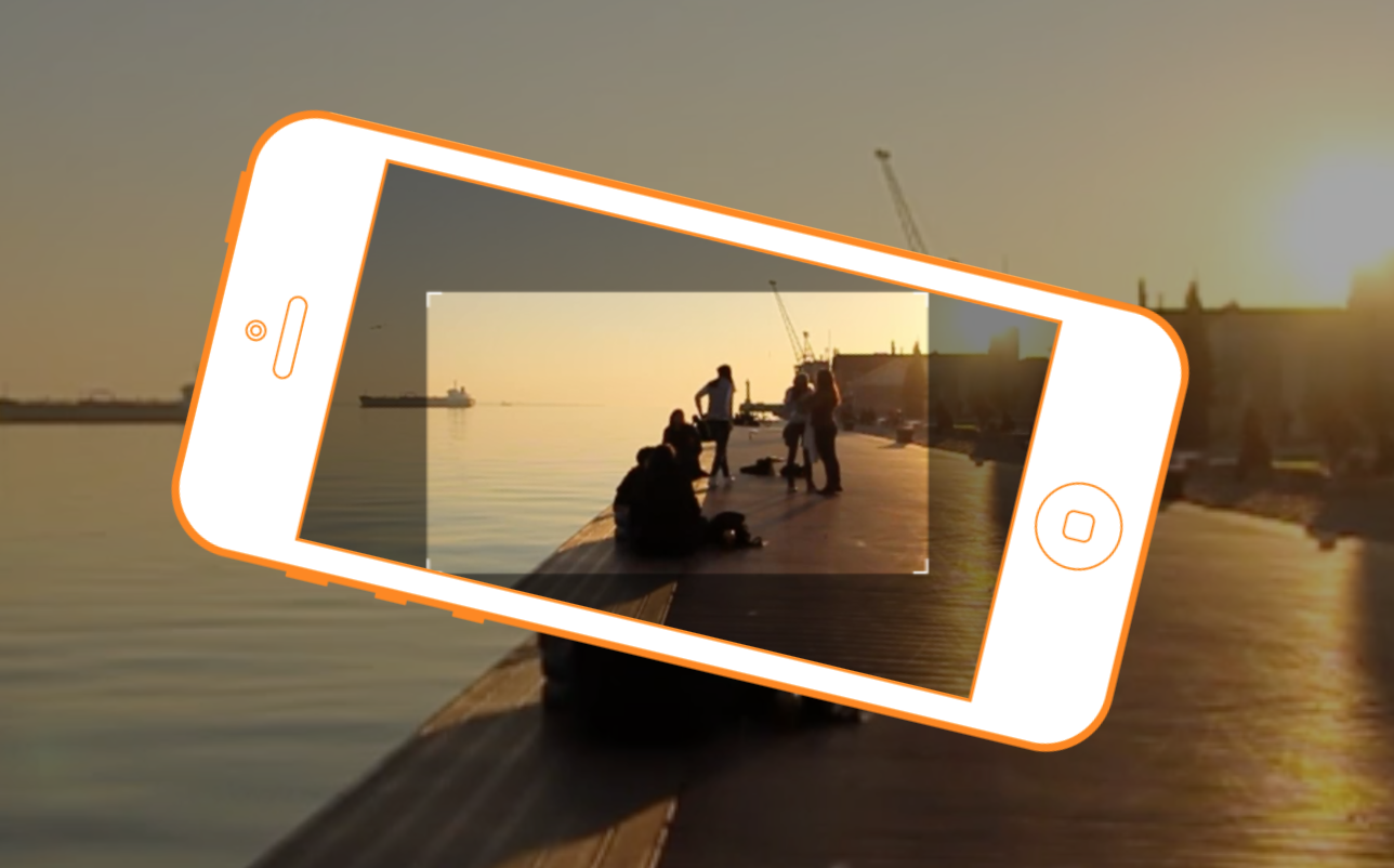 Horizon App lets you shoot video in landscape format even when you forget