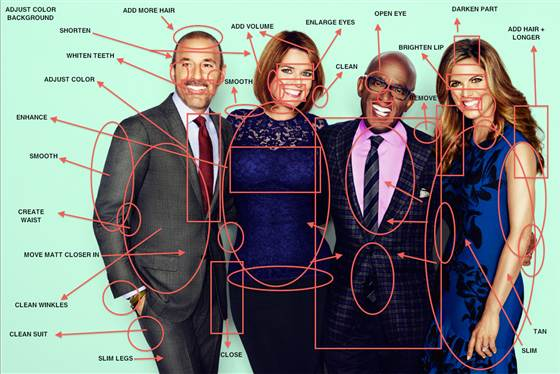 photoshopped today show anchors | cool mom tec