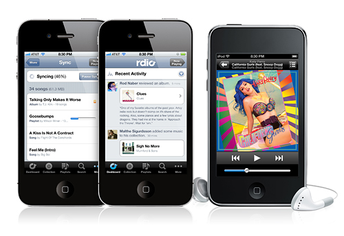 Rdio app for iPhone | Cool Mom Tech