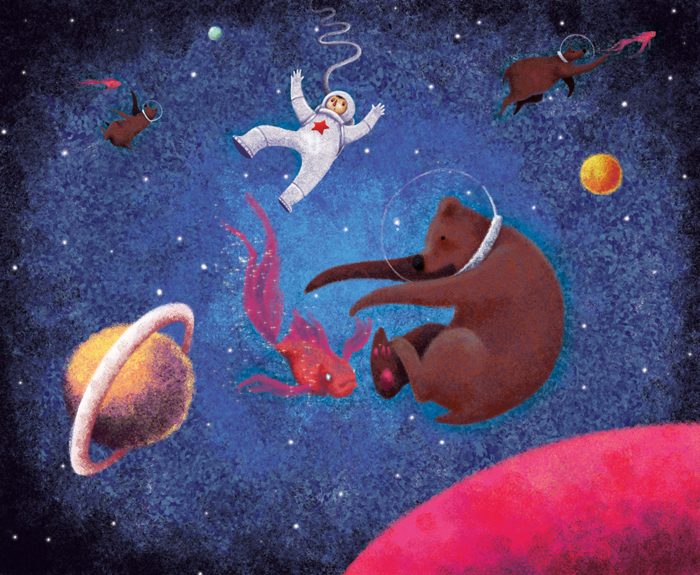 Stella and the Space Bears ebook for kids. Because we can never resist a wonderfully geeky heroine.