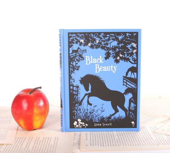 Black Beauty ereader cover at Chicklit Designs