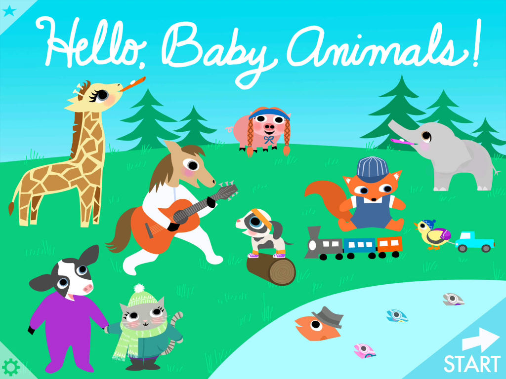 Hello Baby Animals app: Irresistible, interactive fun for preschoolers