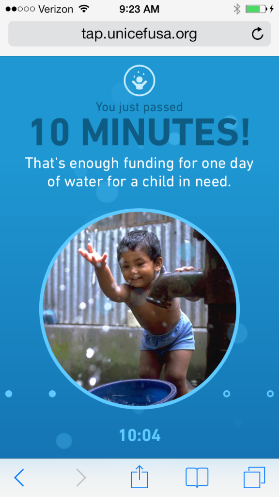 UNICEF Tap Project | Cool Mom Tech