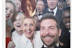 Put yourself in the Ellen Oscars selfie. (Just not over Bradley Cooper please)