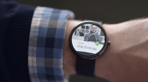 Google launches Android Wear – First up, smartwatches