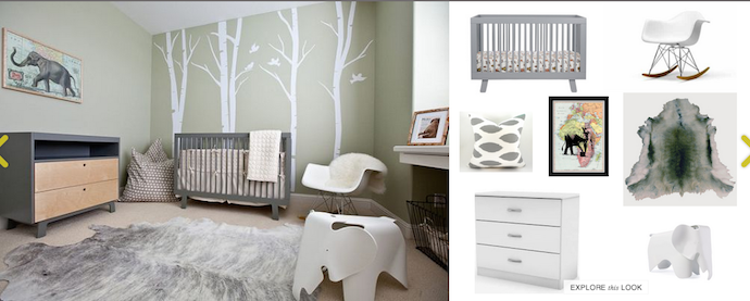 nousDECOR interior design site: nursery ideas | Cool Mom Tech