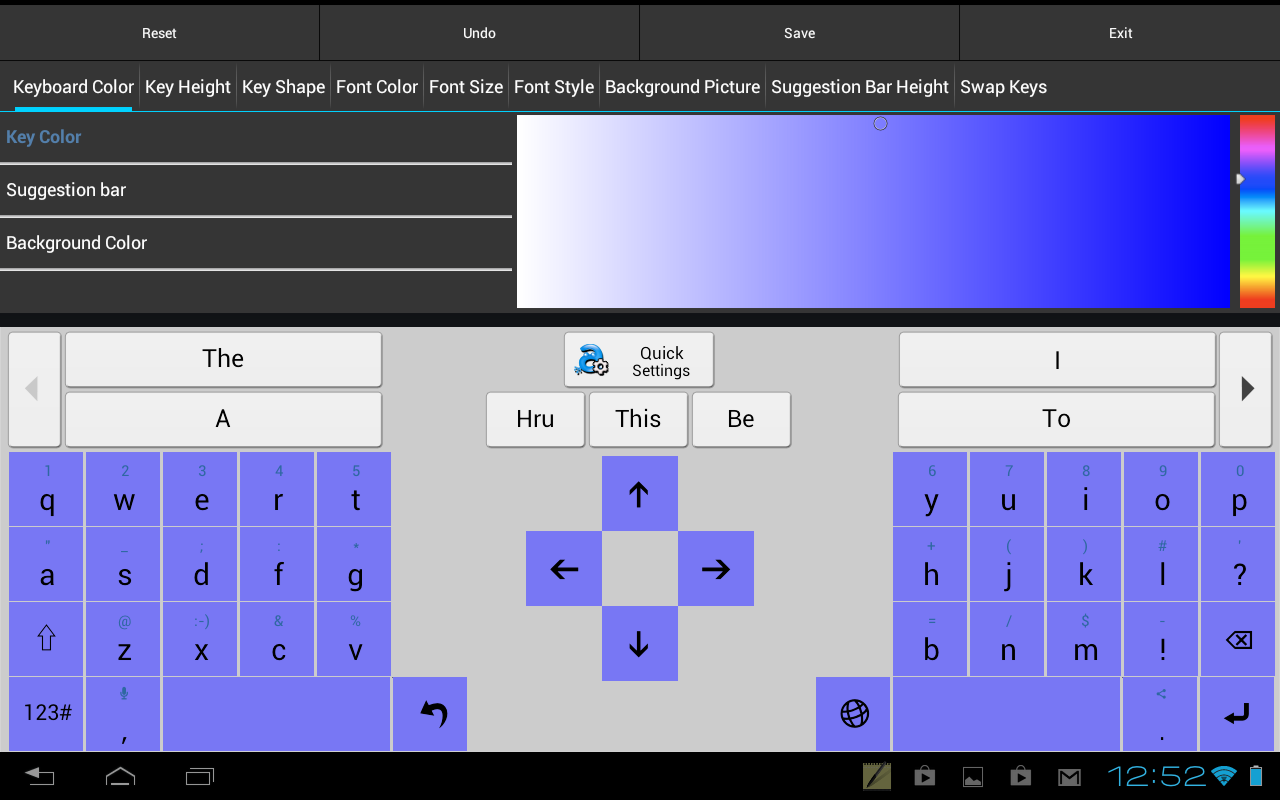 Adaptxt Learning Keyboard for Android: No more damn you, autocorrect.